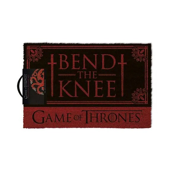 Rohožka Game of Thrones - Bend the Knee