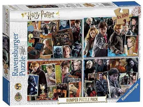 RAVENSBURGER Puzzle Harry Potter 4x100 dílků