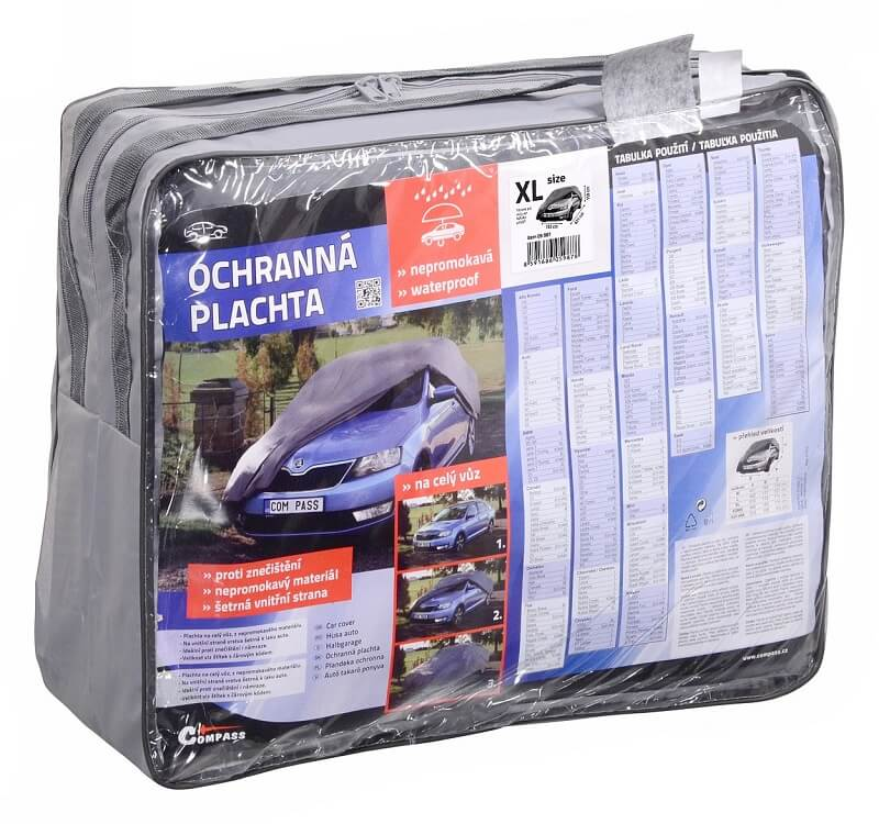 Ochranná plachta Compass XL 533x178x119cm 100% WATERPROOF
