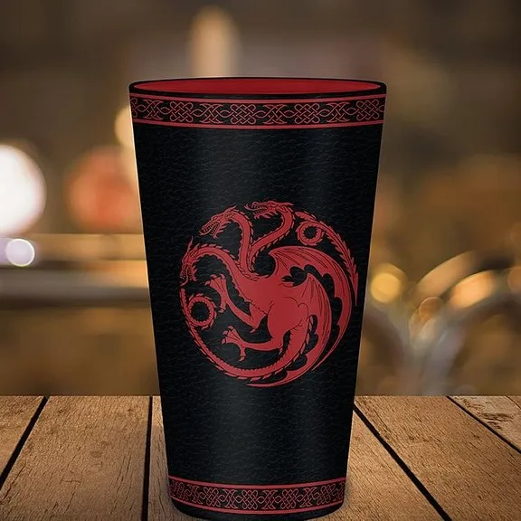 Sklenice Game of Thrones - Targaryen, 0,5 l