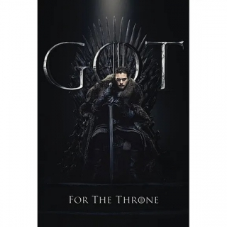 Plakát Game of Thrones - Jon For The Throne