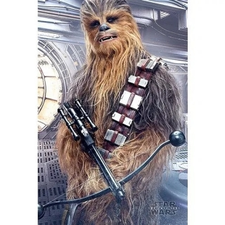 Plakát Star Wars VIII: The Last Jedi - Chewbacca Bowcaster