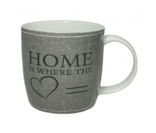 Porcelánový hrnek Home 330 ml