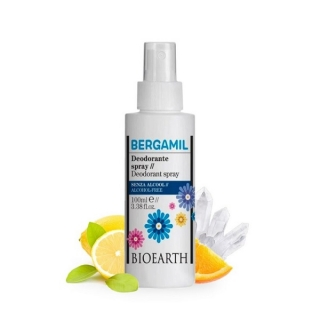 Bergamil deodorant ve spreji - Bioearth (100ml)