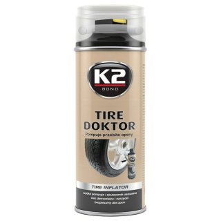K2 Tire doktor - sprej na defekty 400ml