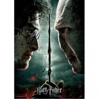 RAVENSBURGER Puzzle Harry Potter vs. Voldemort 1000 dílků